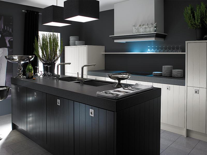 Boekweit meer dan keukens de keukenspeciaalzaak in 39 t gooi - Zwarte houten keuken ...